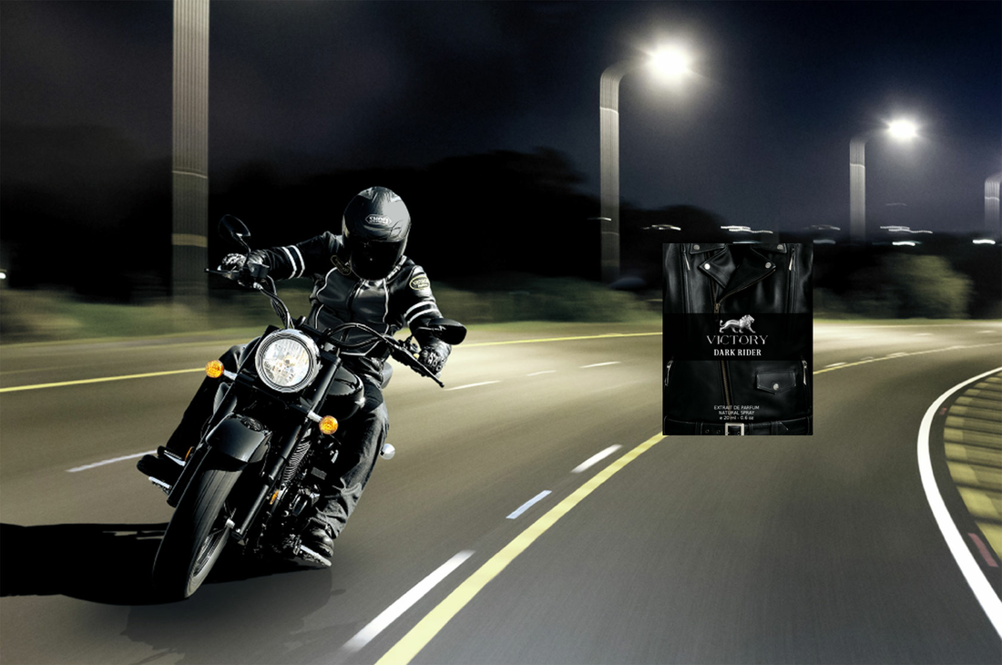 Victory Black Rider Perfume For Men Poster